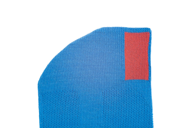 plus12socks Socken blau Ausschnitt Zehe