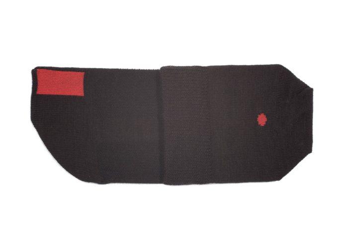 plus12socks Socken schwarz gefaltet