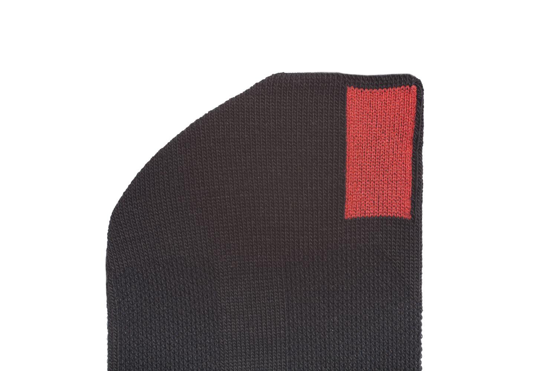 plus12socks Socken schwarz Ausschnitt Zehe